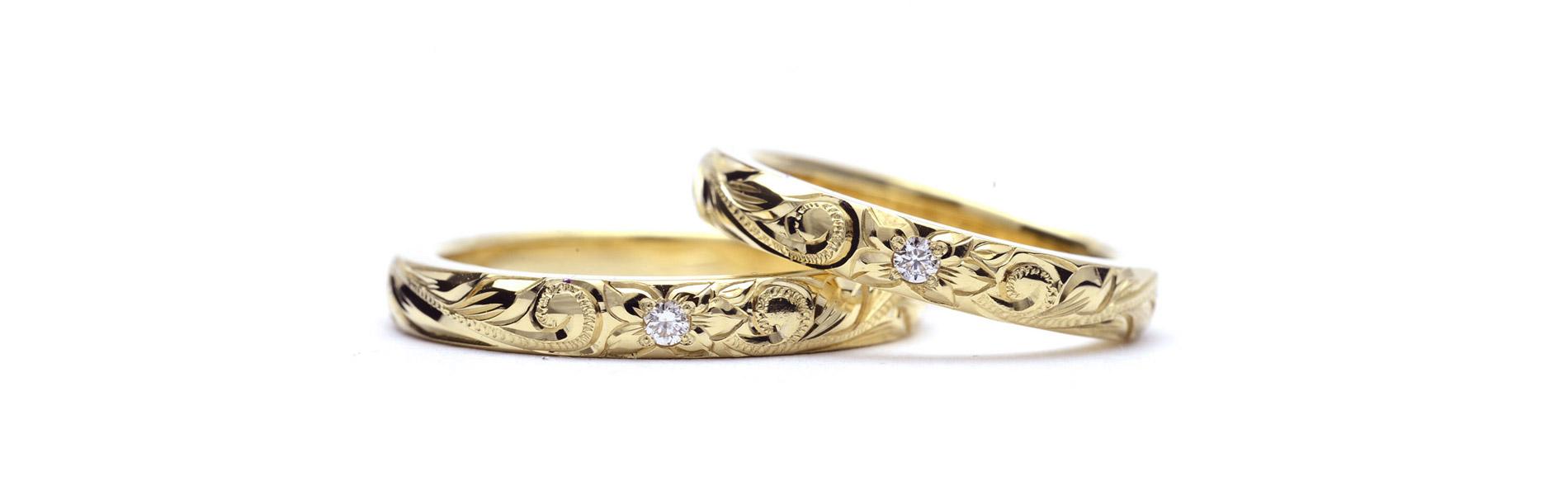 ウェリアナ ハワイアンジュエリーimage結婚指輪3mm